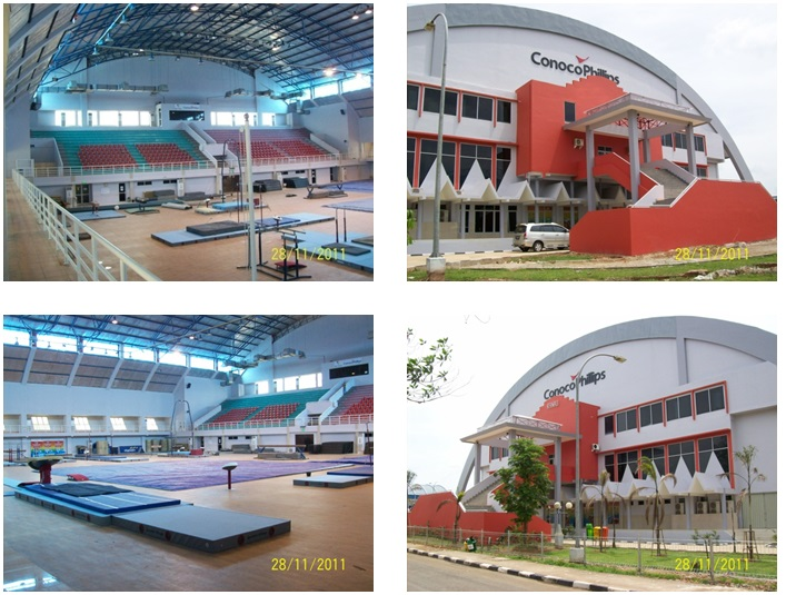 Palembang Gymnastic Sport Hall Project  Funded By Conocophilips