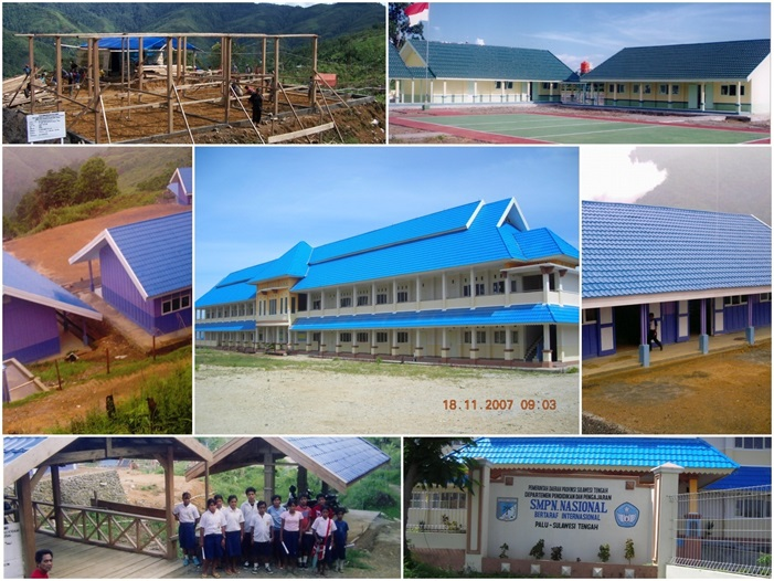 """Construction Development Consultants (CDC) for the Block Grant of """"USB"""" Central Sulawesi"""