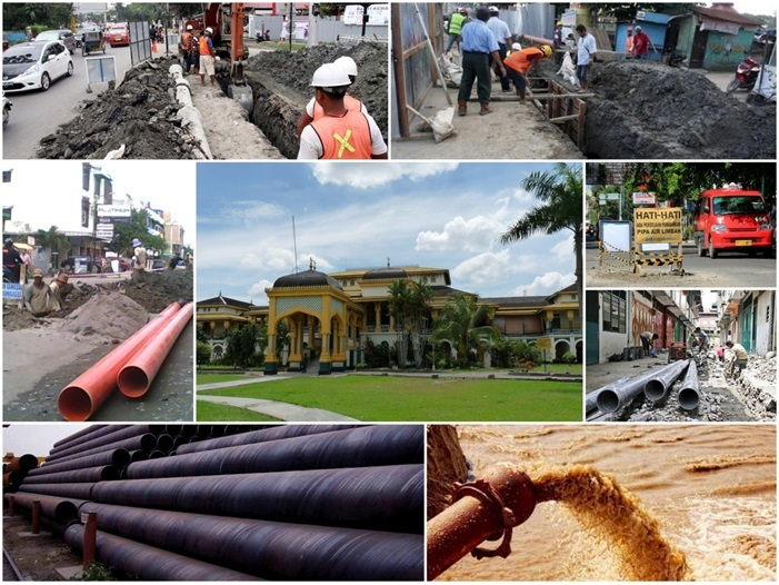 Construction Supervision Services for Sewerage Distribution Pipe Networks on Zona # 9 Medan City